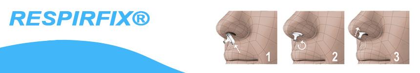 Qué es Respirfix®- dilatador nasal para dormir y para el deporte.